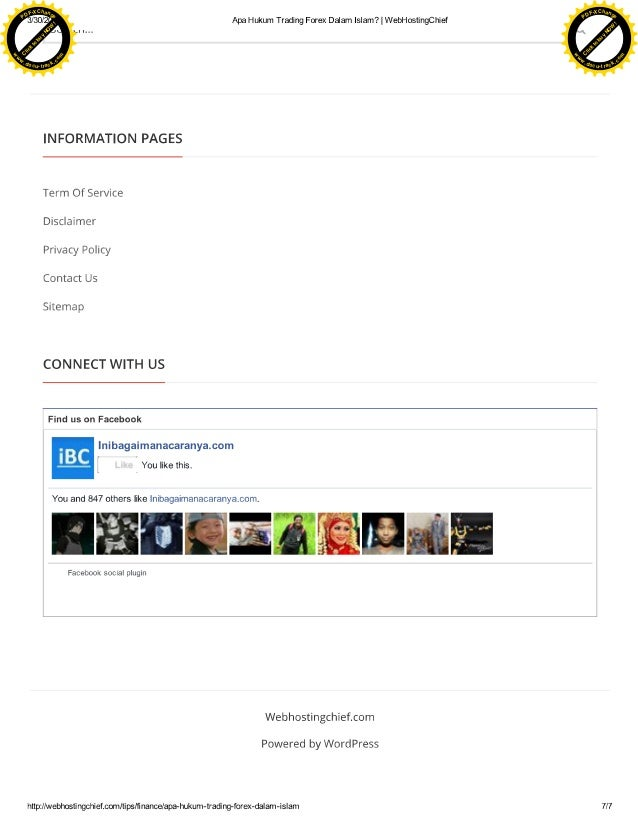 Hukum forex online