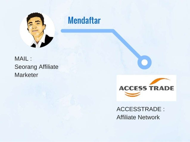 "Mendaftar  . I  MAIL :   Seorang Affiliate  Marketer  t"" ACCESS TRADE % ACCESSTRADE :   Affiliate Network"