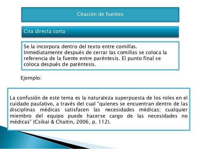 resumen de las normativas manual de la apa 6 170 edici 243 n
