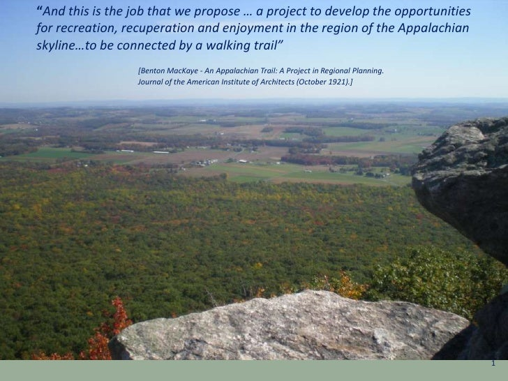 """""""And this is the job that we propose … a project to develop the opportunities for recreation, recuperation and enjoyment i..."""