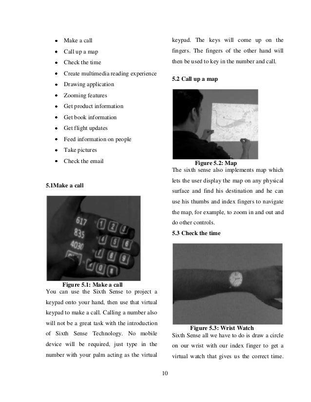 sixth sense technology ppt pdf