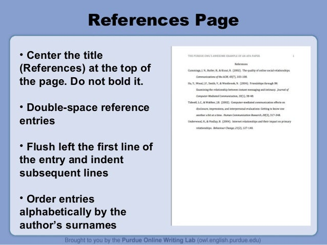 apa format for presentations When you use apa style to cite live conference presentations, you'll need the basic information, including the author's name, the presentation title, and the name, date and location of the conference itself if you've watched the presentation online or retrieved the abstract from a database, you'll need.