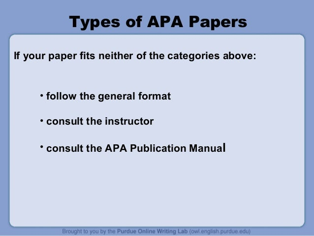 apa style presentation A guide to apa referencing style for murdoch university students and staff.