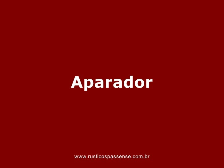 Aparadorwww.rusticospassense.com.br