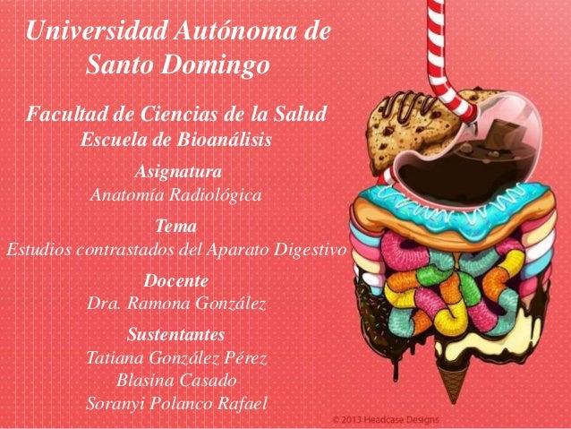 Aparato digestivo anatomía radiológica