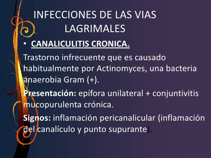Signos  (anomalías de la película lagrimal)• Filamentos de moco y desechos• Menisco lagrimal marginal• Presencia de espuma