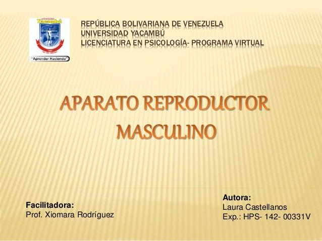 REPÚBLICA BOLIVARIANA DE VENEZUELA UNIVERSIDAD YACAMBÚ LICENCIATURA EN PSICOLOGÍA- PROGRAMA VIRTUAL Facilitadora: Prof. Xi...