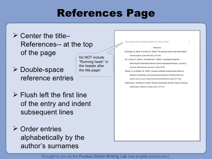 how to make apa title page in word