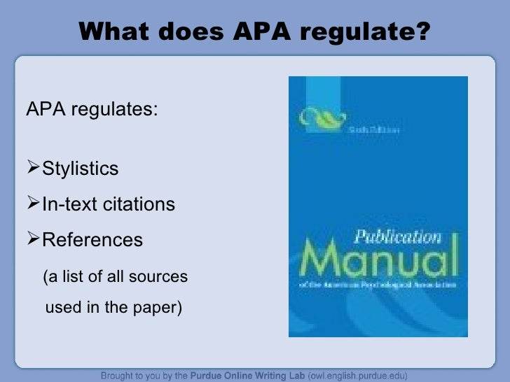 RESEARCH WRITING - Apa References Style Slide 3