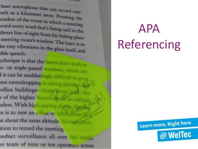 apa referencing By timothy mcadoo dear apa style experts, i'm a computer science major, and my favorite blog is called g del's lost letter and p=np, written by two esteemed computer science experts can i cite a post from that blog i'm also.