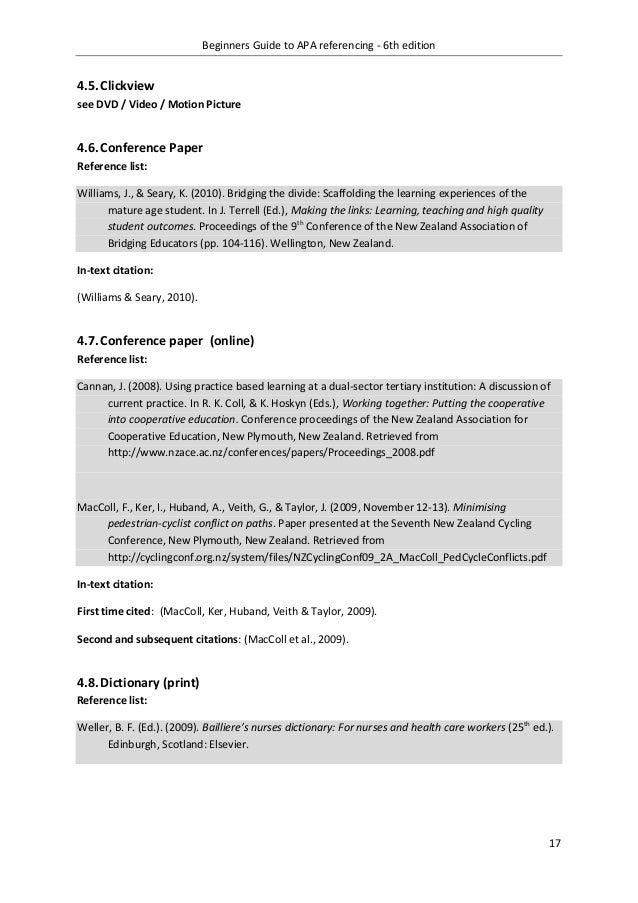 apa style guide 6th edition pdf