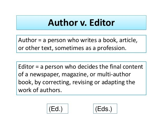 apa citation essay edited book If using bibme's apa citation builder when citing an entire edited book refer to it only in the body of your essay or project.