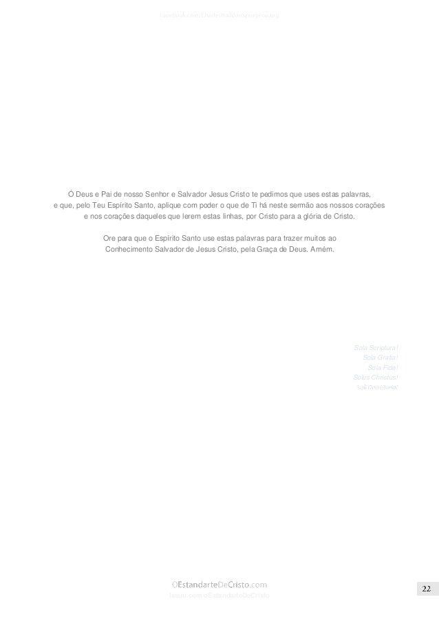 Issuu.com/oEstandarteDeCristo  Fonte: SpurgeonGems.Org │ Título Original: The Form Of Godliness Without The Power  As cita...