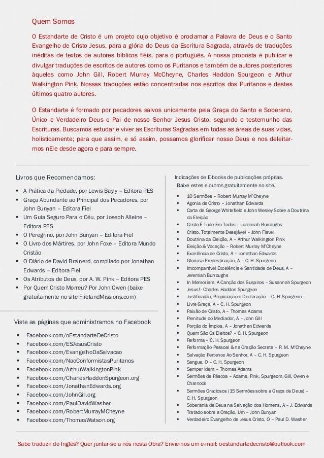 Issuu.com/oEstandarteDeCristo  Indicações de E-books de publicações próprias.  Baixe estes e outros gratuitamente no site....