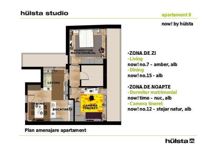 apartament 8                                           now! by hülsta                            •ZONA DE ZI              ...