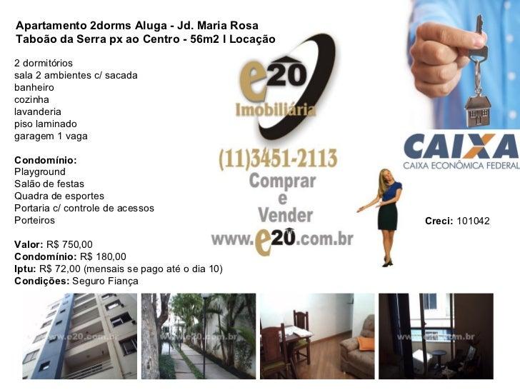 2 dormitórios sala 2 ambientes c/ sacada banheiro cozinha lavanderia piso laminado garagem 1 vaga Condomínio: Playground S...
