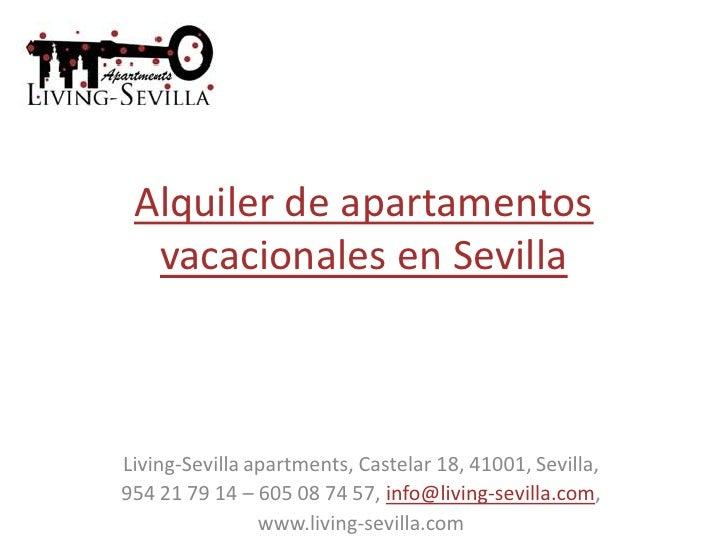 apartamentos vacacionales sevilla