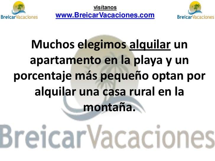 Apartamentos vacaciones alquiler apartamentos playa - Alquilar apartamento vacaciones ...