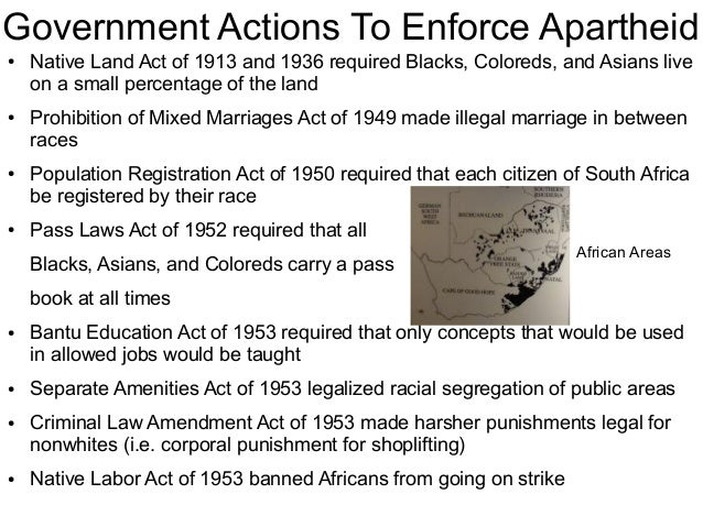 1913 native land act One hundred years ago, it was declared illegal for native south africans to acquire land outside scheduled native areas, reserves which had been demarcated by the new union parliament and covered only a small fraction of the country this short piece of legislature, the 1913 natives land act, played.