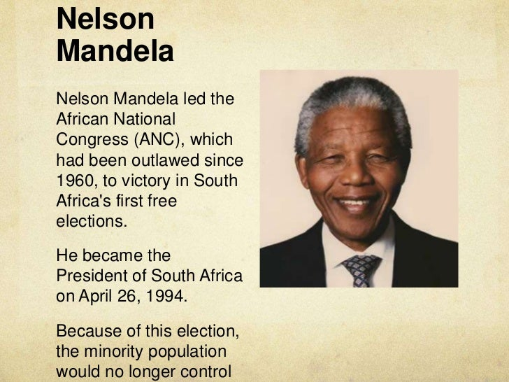 nelson mandela behavior The recent death of nelson mandela brought back a lot of memories for me – and prompted this new blog entry after many months of no new postings.