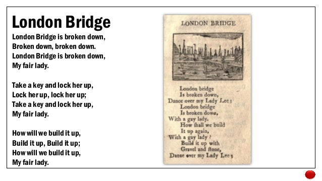 London Bridge is Falling Down Game images