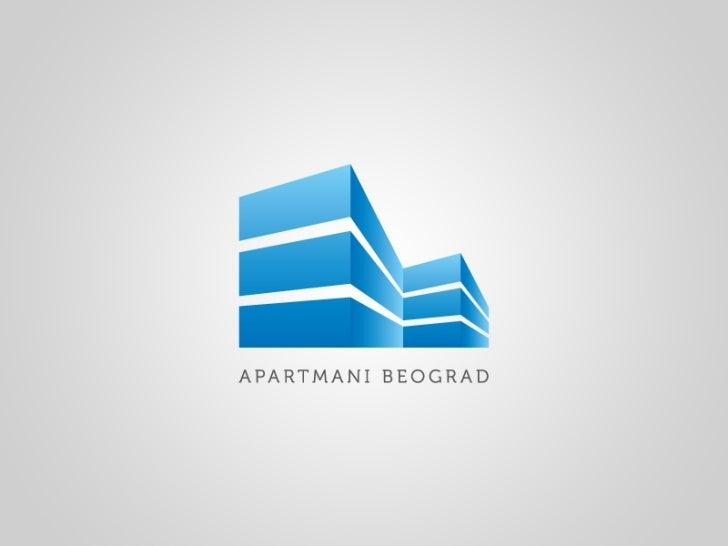 Optimizacija sajta izrada sajta i Dizajn logotipa: Apartmani Beograd - Logo Dizajn