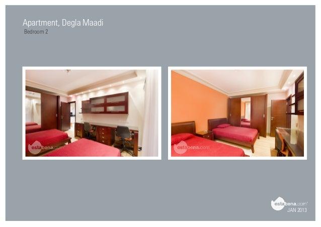 Perfect JAN 2013 Apartment, Degla Maadi Bedroom 2 ...