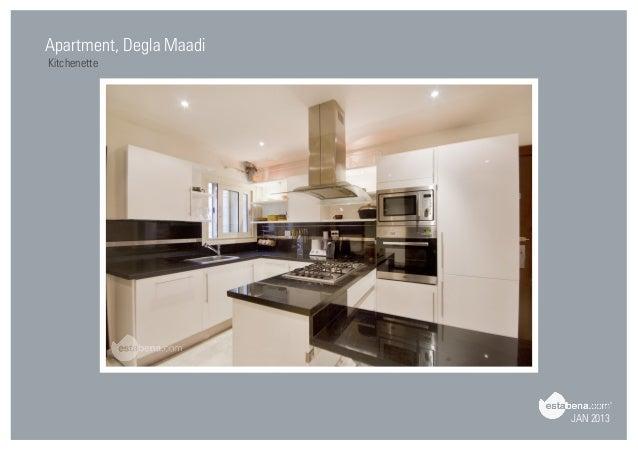 Attractive JAN 2013 Apartment, Degla Maadi Kitchenette ...