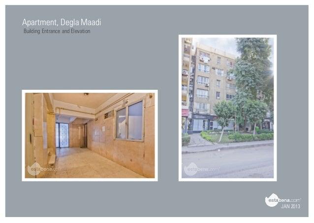 JAN 2013 Apartment, Degla Maadi Building Entrance; 17.