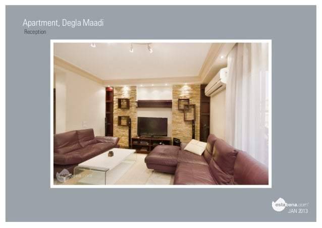 Great JAN 2013 Apartment, Degla Maadi Reception ...
