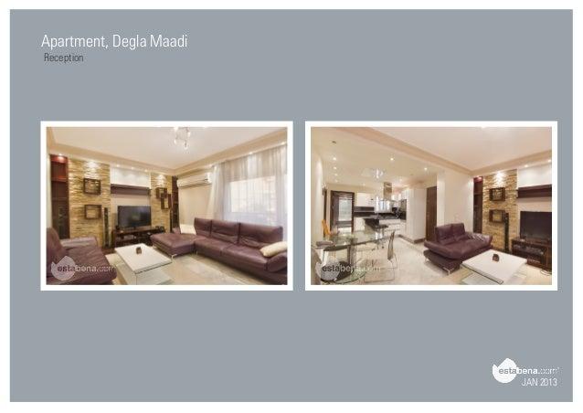 Nice JAN 2013 Apartment, Degla Maadi Reception ...