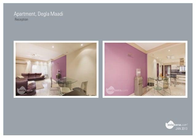 JAN 2013 Apartment, Degla Maadi Reception ...