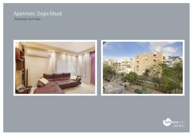 JAN 2013 Apartment, Degla Maadi Reception And View ...