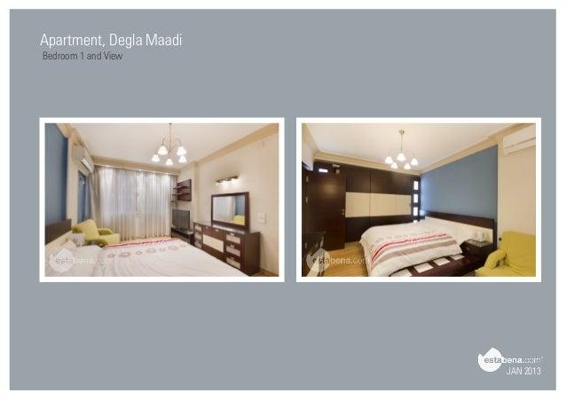 Beautiful JAN 2013 Apartment, Degla Maadi Bedroom 1 And View ...