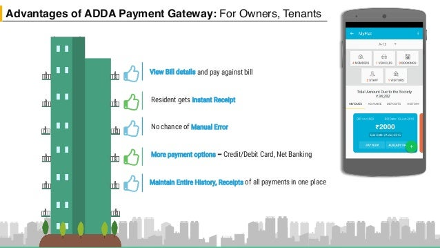 ApartmentADDA : Online Payment Gateway for Apartments