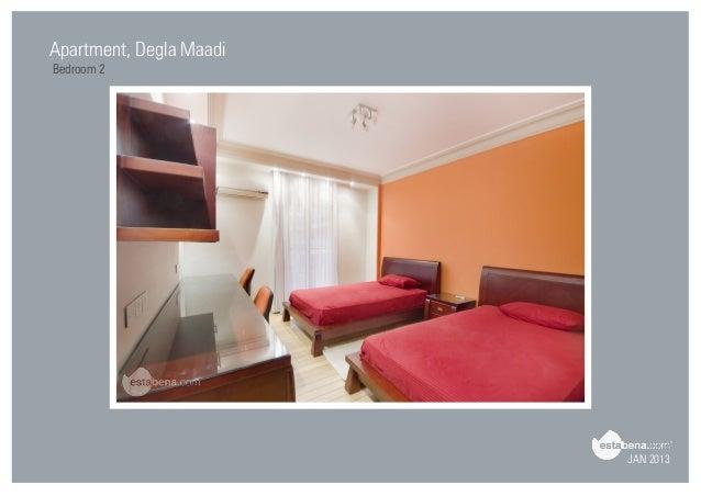 JAN 2013 Apartment, Degla Maadi Bedroom 2 ...