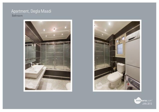 Good JAN 2013 Apartment, Degla Maadi Bathroom ...