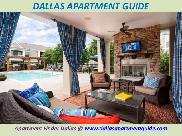Dallas apartment guide ppt.