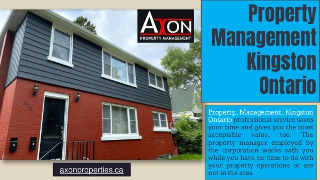 Property Management Kingston Ontario professional service saves your time and gives you the most acceptable value, too. Th...