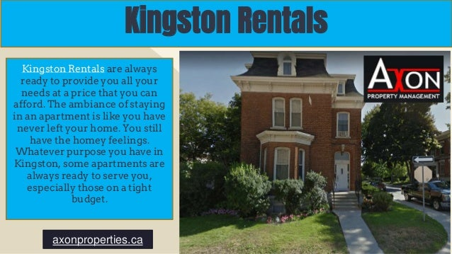 Kingston Rentals Kingston Rentals are always ready to provide you all your needs at a price that you can afford. The ambia...