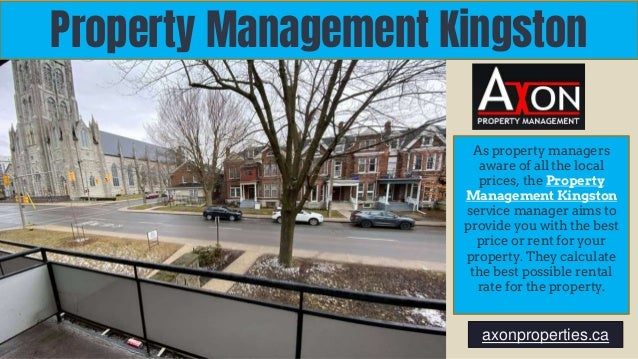 Property Management Kingston As property managers aware of all the local prices, the Property Management Kingston service ...