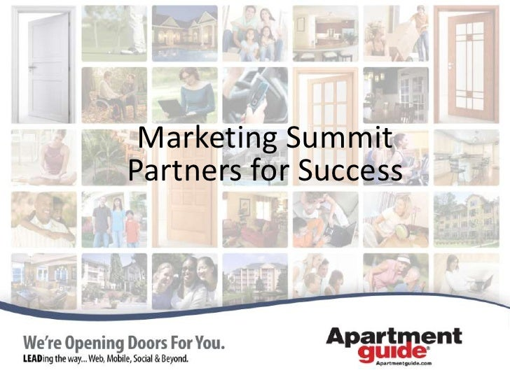 Marketing SummitPartners for Success<br />