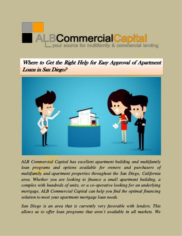 ALB Commercial Capital has excellent apartment building and multifamily loan programs and options available for owners and...