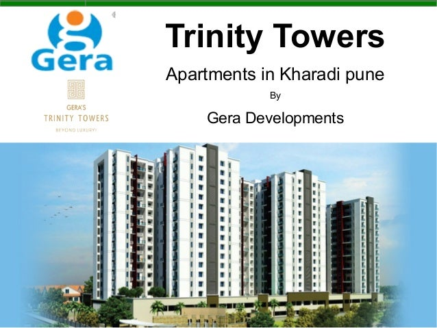 Trinity Towers Apartments in Kharadi pune By Gera Developments