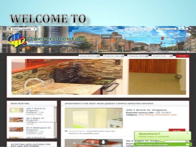 Apartments For Rent Near Queen University Kingston Ontario