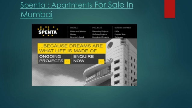 Spenta : Apartments For Sale In  Mumbai