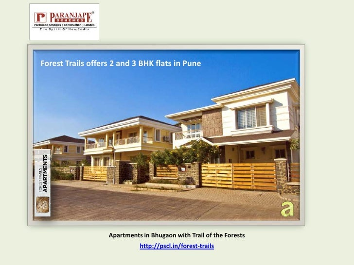 Forest Trails offers 2 and 3 BHK flats in Pune                   Apartments in Bhugaon with Trail of the Forests          ...