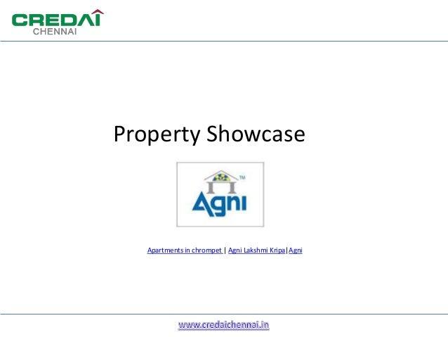 Property ShowcaseApartments in chrompet | Agni Lakshmi Kripa|Agni