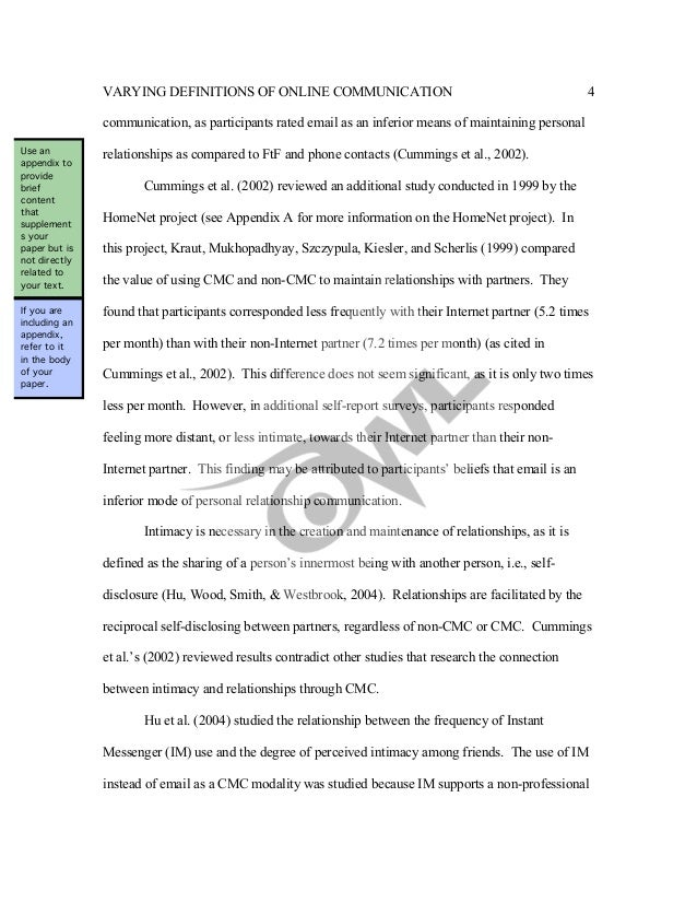 how to format apa appendix sample paper how to format apa appendix