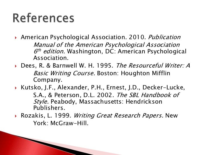 American psychological association dissertation